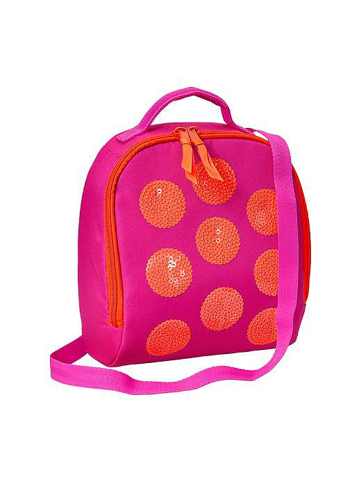 Gap Kids Sequin Dot Lunch Bag