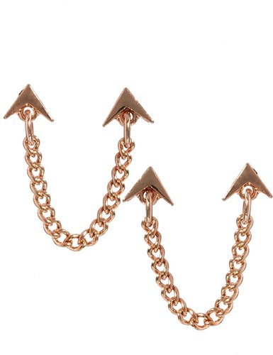 ASOS Multipack Arrow & Chain Linked Earrings