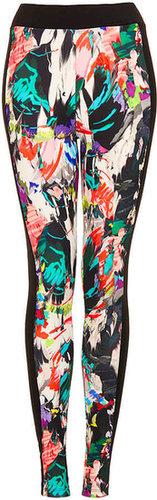 Paint Art Paneled Leggings