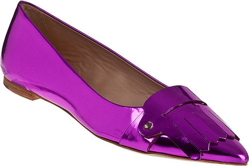 KATE SPADE Galley Loafer Fuchsia Leather