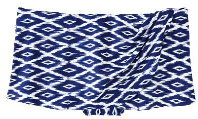 Converse® One Star® Women's Diamond Print Swim Skirt - Blue