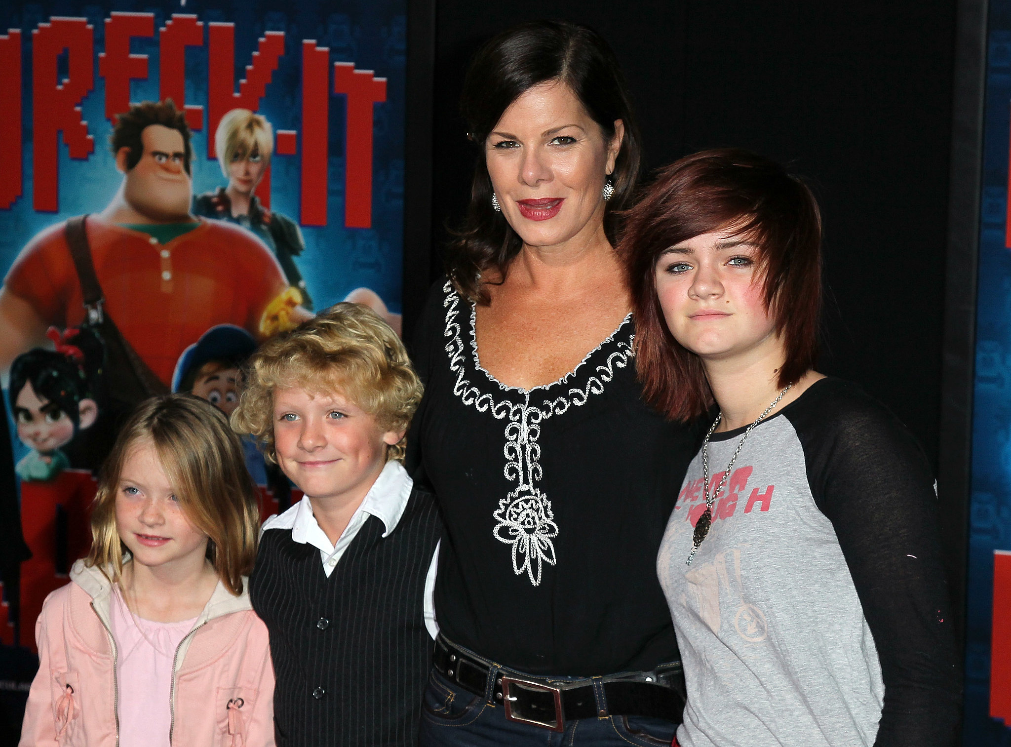 Photo of Marcia Gay Harden & her Daughter   Eulala Grace Scheel