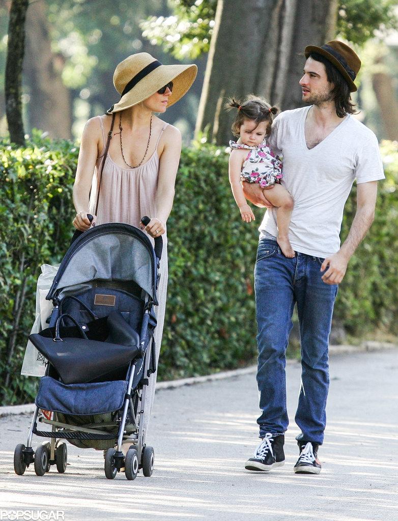 Sienna and Tom Bring Baby Marlowe Along For an Italian Getaway