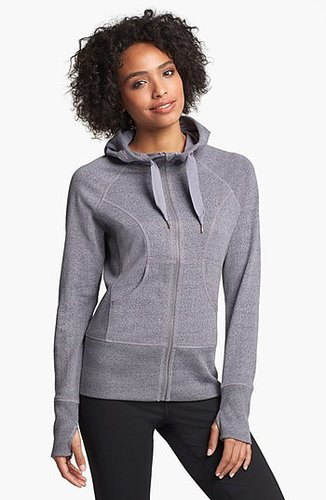 Zella French Terry Hoodie Grey Heather X-Small