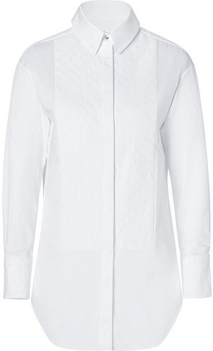 Rag & Bone Cotton Winchester Shirt in White