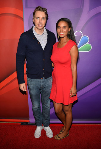 Dax Shepard and Joy Bryant posed together on the red carpet.