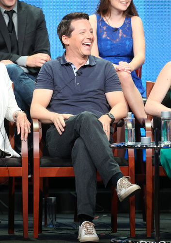 Sean Hayes was at the panel for Sean Saves the World.