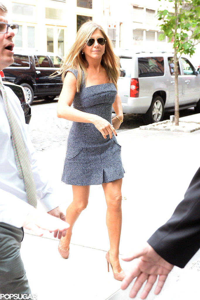 """Jennifer Aniston """"Already Feels Married"""" to Justin Theroux"""