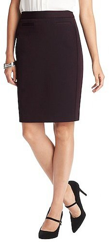Tall Stretch Twill Pencil Skirt