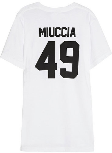 LPD New York Team Miuccia printed cotton-jersey T-shirt
