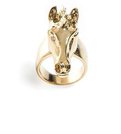 Chloé Horse head ring