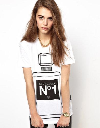 Criminal Damage T-Shirt With Perfume Print