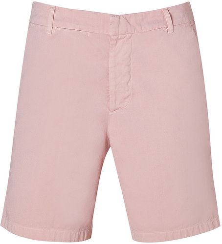 Band of Outsiders Pale Pink Cotton Chino Shorts