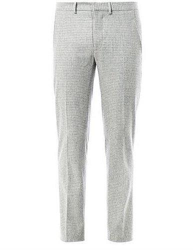 J.W. Anderson Check cigarette trousers