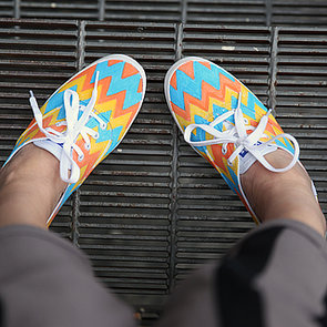 DIY Printed Sneakers | Video