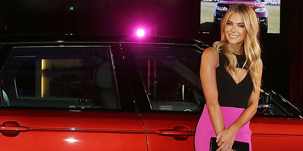 Jennifer Hawkins Changes Gears For a Range Rover Event