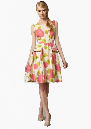 KATE SPADE NEW YORK WYNNE FLORAL-PRINT DRESS