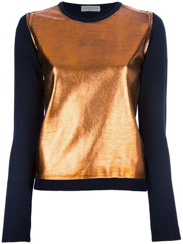 Roberto Collina metallic sweater