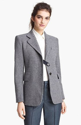 MARC JACOBS Houndstooth Wool Blazer 8