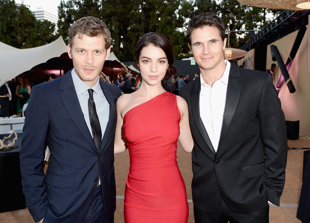 Joseph Morgan, Adelaide Kane and Robbie Amell