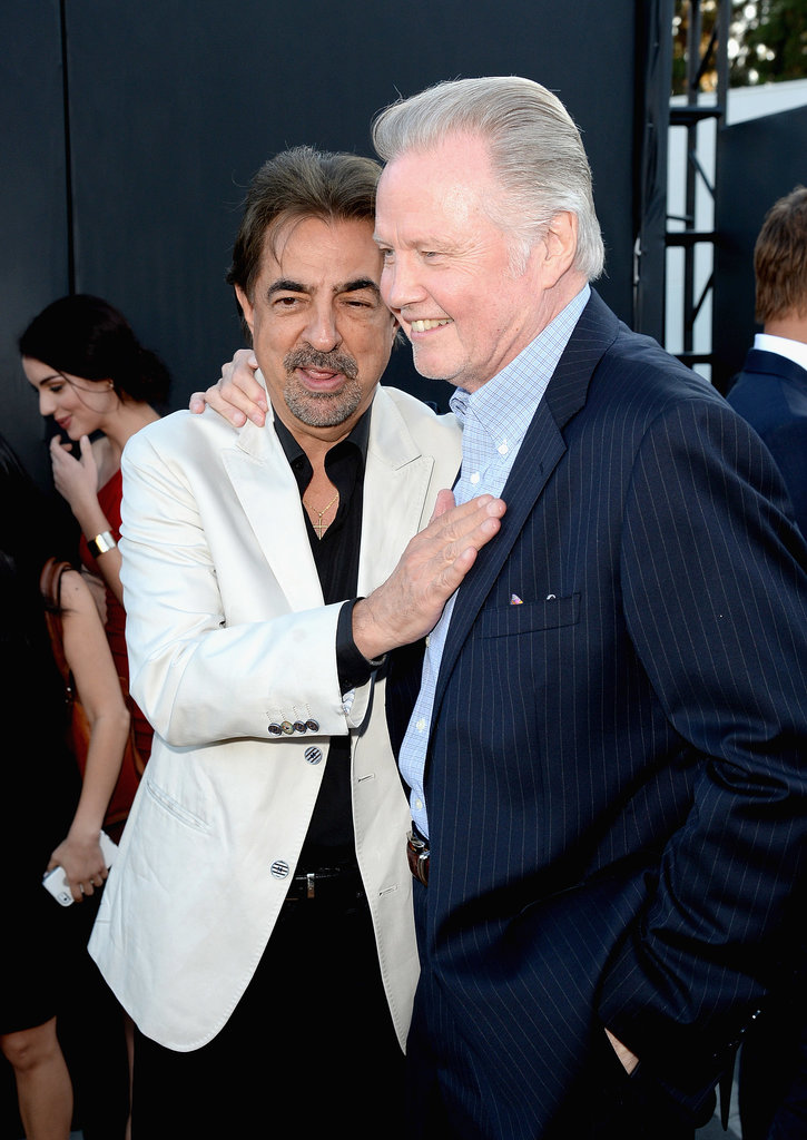 Joe Mantegna and Jon Voight