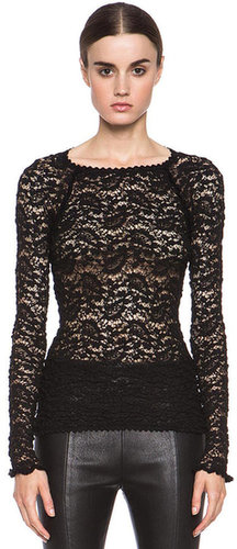 Etoile Isabel Marant York Top in Black