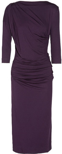 Vivienne Westwood Anglomania Shaman ruched jersey dress