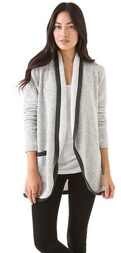 Three dots Open Cardigan