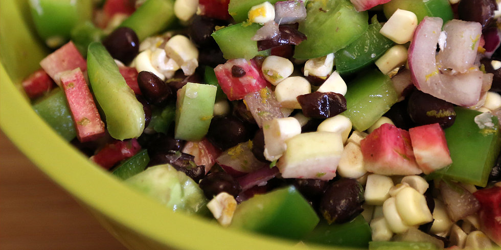 A No-Cook Black Bean Dish For All Summer Long