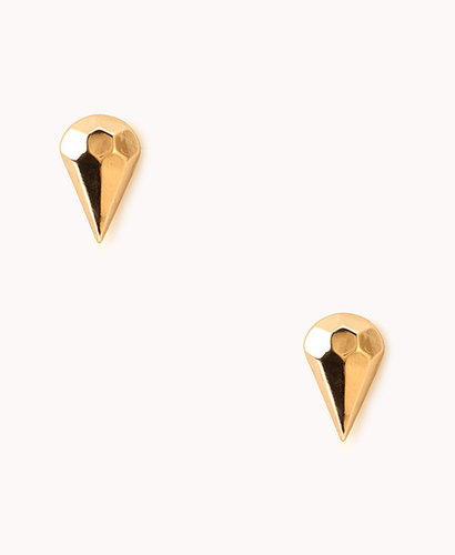 FOREVER 21 Faceted Spike Studs