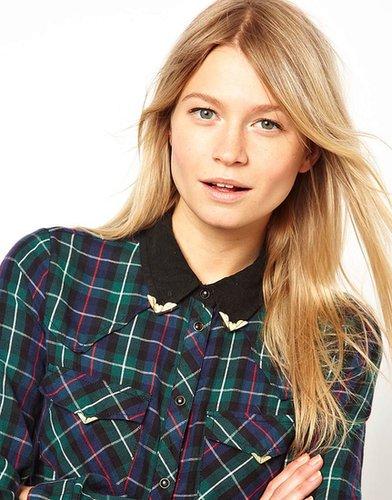 ASOS Heart Wing Collar Tips