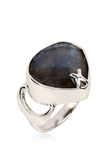 Raindrop Labradorite Ring