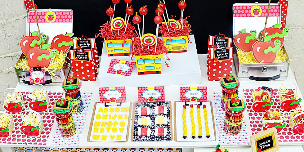 A Back-to-School Party With Lots of Free Printables