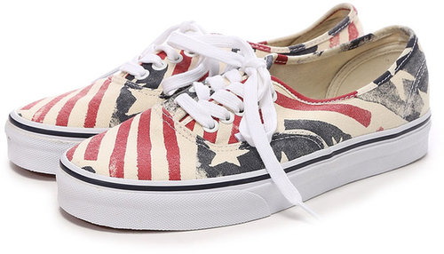 ヴァンズ VANS CHAPTER AUTHENTIC Retro Flag