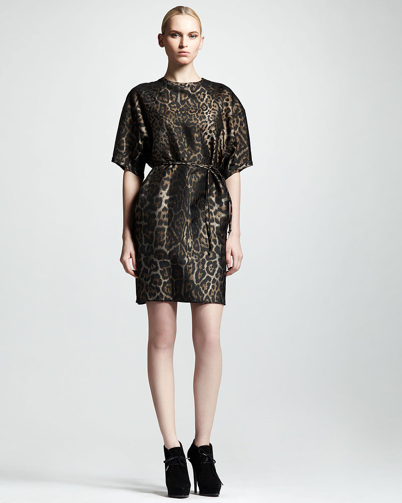 And if dresses are more your style, we love this belted option ($3,075) from Lanvin too.