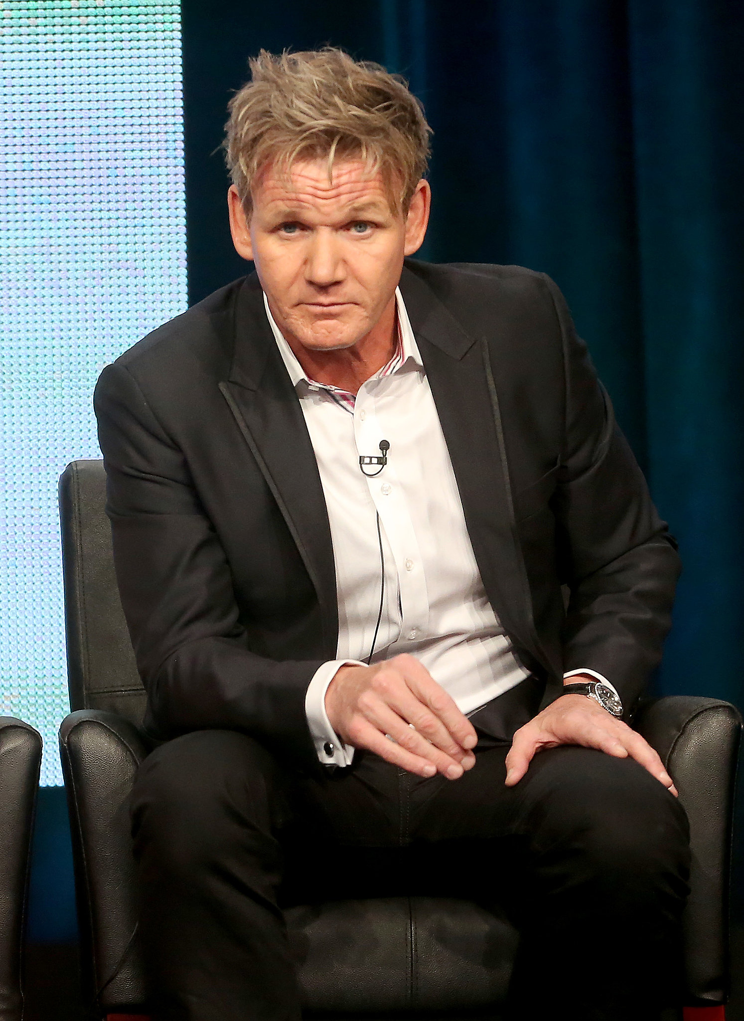 Gordon Ramsay was at the Summer TCA Press Tour to talk about Junior MasterChef.