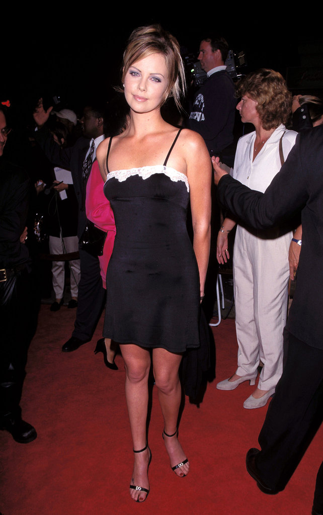 She was still technically an unknown when she attended the Two Days in the Valley premiere in LA back in September 1996.