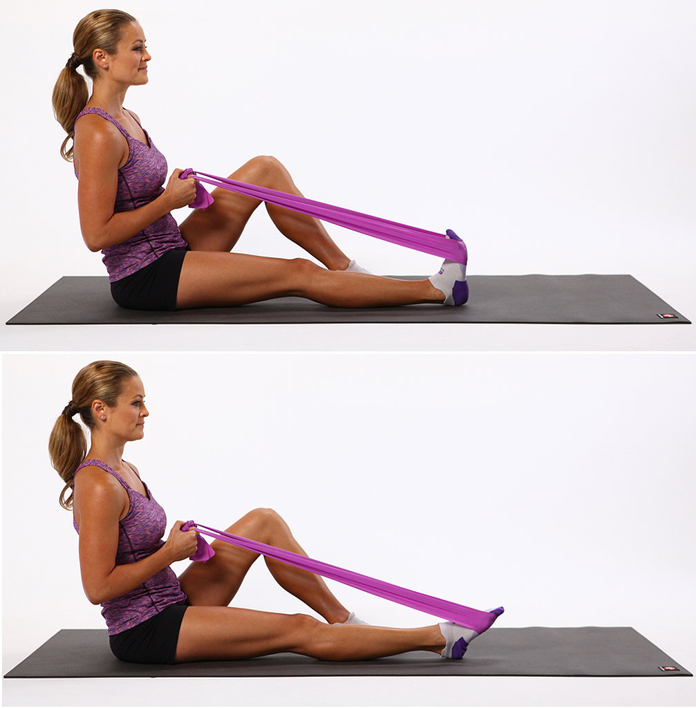 Weak Ankles: Plantar Flexion With Resistance Band