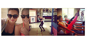 Healthy (Hot) Shots: How Celebs Are Staying Fit This Season