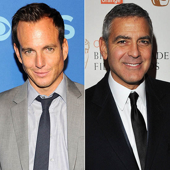 "Will Arnett's male celebrity crush was also outed by Advocate in 2007. During his interview, he couldn't stop himself from gushing about George Clooney: ""A bro-crush? George Clooney. He's just the ultimate cool. How can you say a bad word about the guy? He's handsome as you want to be, he's got that perfect salt-and-pepper hair, he looks like he was born in a tuxedo—did you see him at the Oscars? I mean, c'mon, that's just not fair. He's got it going on."""