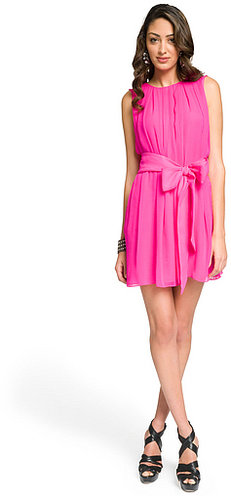 ADAM Neon belted tank dress