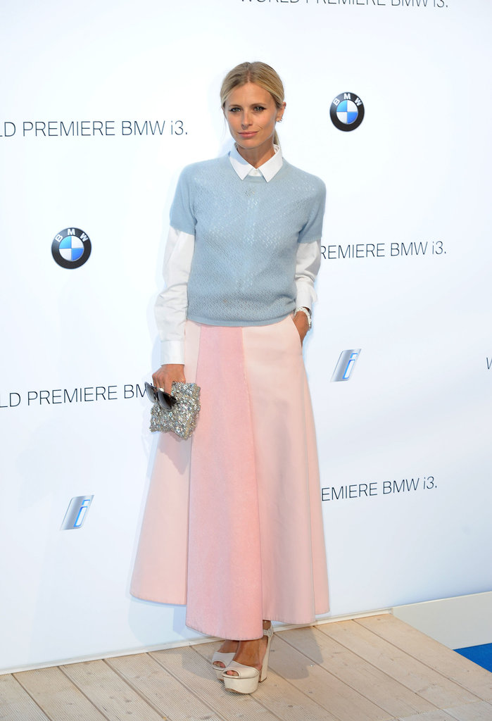 Laura Bailey in YSL, Prada, Trager Delaney & Christopher Kane