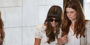 Lea Michele Steps Out For Jamie-Lynn Sigler's Baby Shower