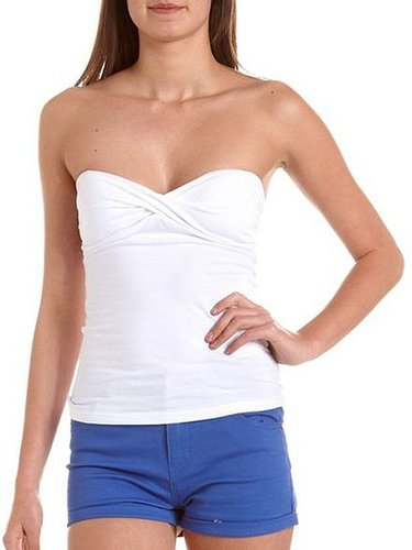 Twisted Bust Tube Top