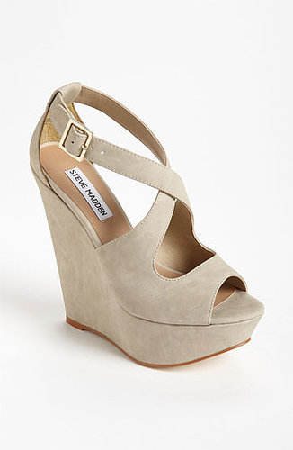 Steve Madden 'Xternal' Wedge Sandal Bone 10 M