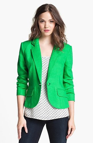 Olivia Moon Linen Jacket Small