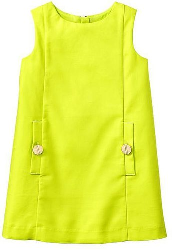 Bright pocket dress