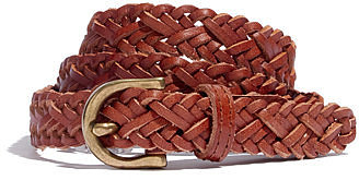 Braided hammock belt
