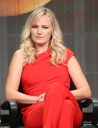 Malin Akerman attended the discussion panel for Trophy Wife.