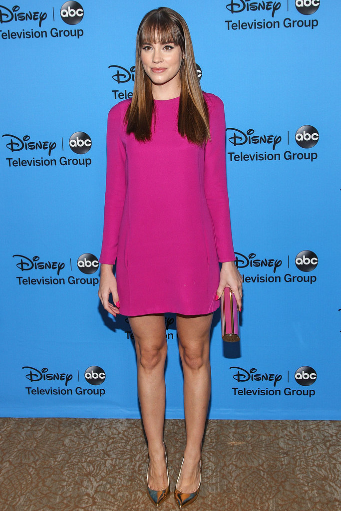 Christa B. Allen was among the guests as the Summer TCA Press Tour  Disney/ABC Television Group party.
